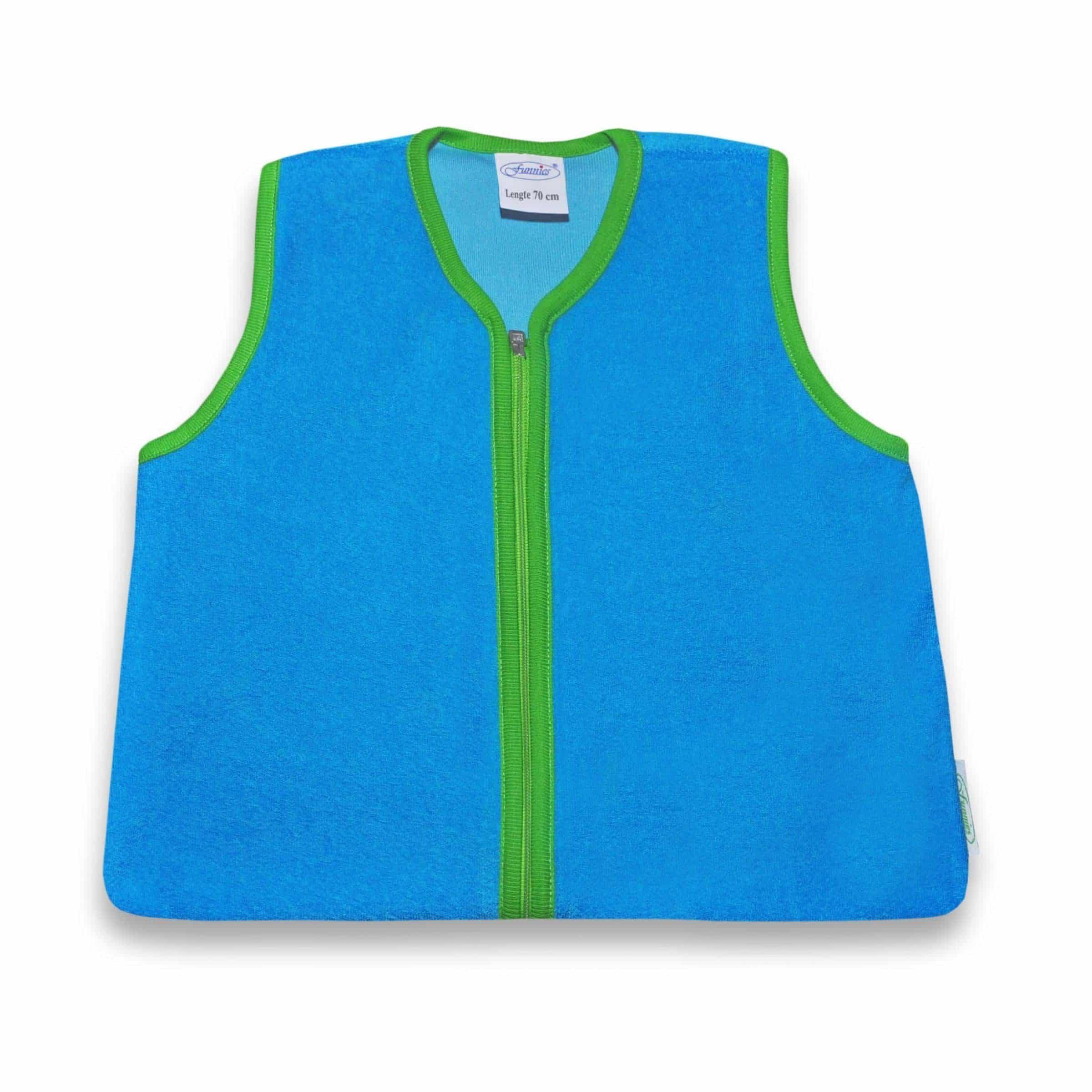 Slaapzak turquoise/groen, 70cm